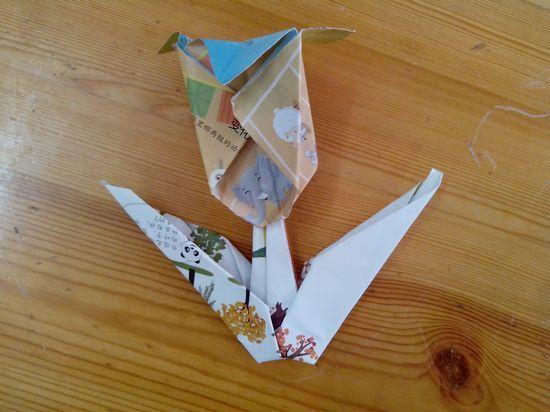 润翰的折纸-折郁金香