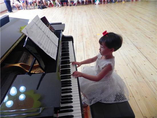 幼儿园钢琴公开课