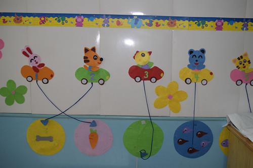 幼儿园教师风采展板小动物