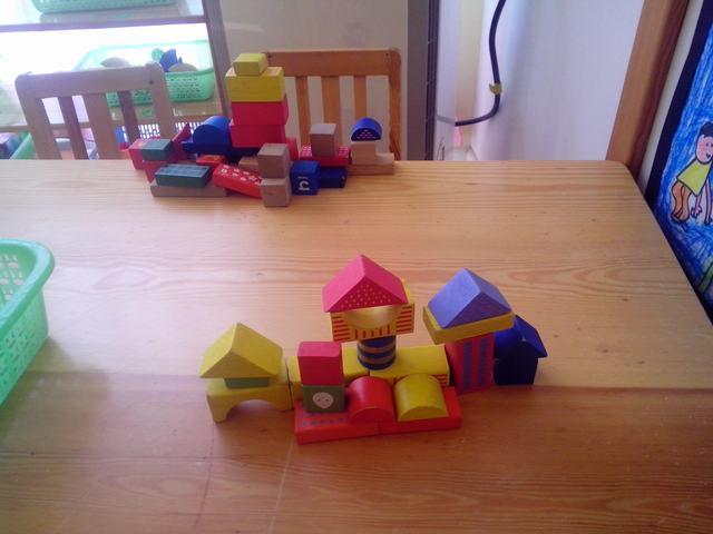 积木房子秀 _ 红黄蓝|早教|早教中心