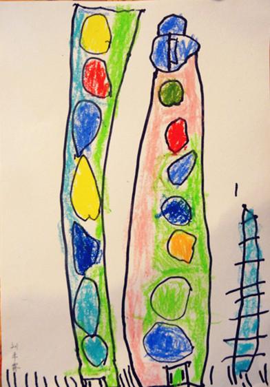 幼儿园糖果主题边框设计