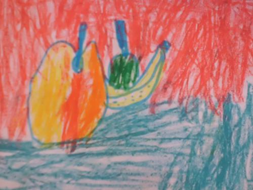 静物写生 秋天的水果图片