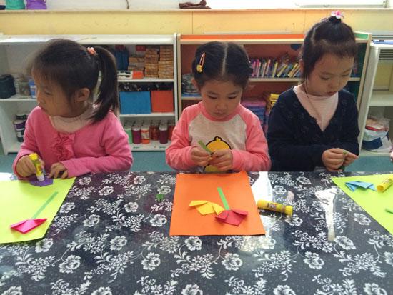 幼儿园手工制作束花步骤
