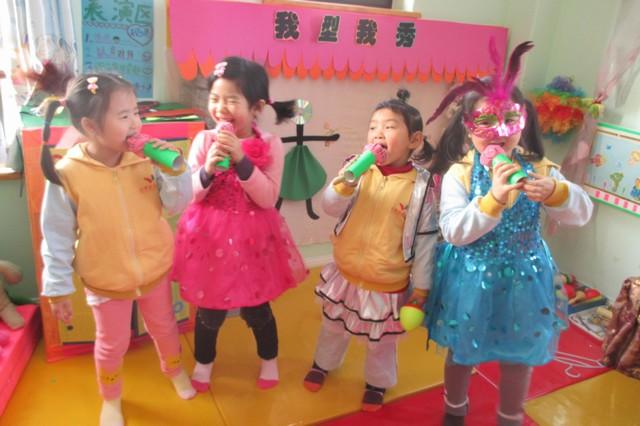 小班表演区规则图示,幼儿园表演区材料投放