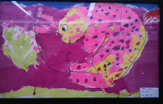 的绘本绘画中你的小兔子真的好可爱