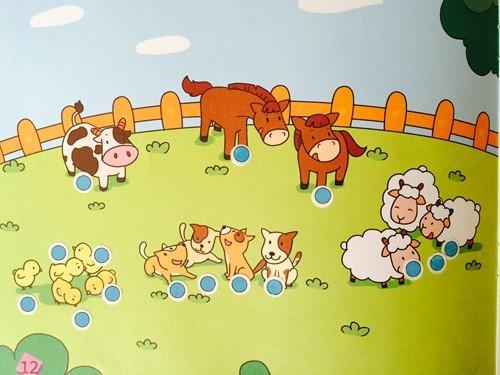 小动物来排队 _ 红黄蓝|早教|早教中心