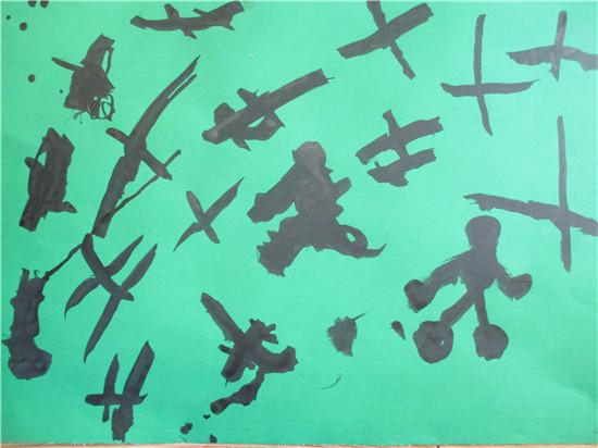幼儿手指动物影子图片