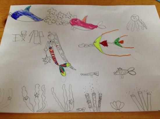 我画的海底世界图片