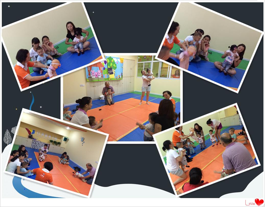 音乐感统_大黄鸭带小朋友体验音乐感统训练感统宝宝