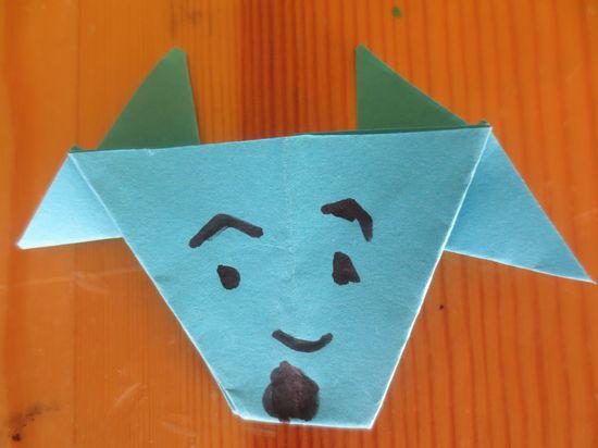 手工折纸大全图解之小螃蟹的折纸方法教程图片