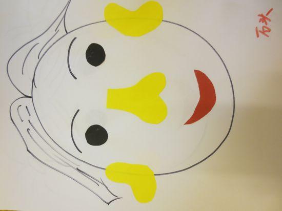 动画五官鼻子卡通