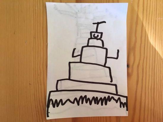 机器人蛋糕
